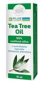 PLUS LEKÁREŇ Tea Tree Oil 100% rastlinná silica z čajovníka 1x10 ml
