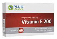 PLUS LEKÁREŇ Vitamín E 200 cps 1x60 ks