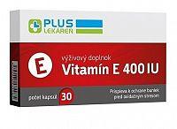 PLUS LEKÁREŇ Vitamín E 400 IU cps 1x30 ks