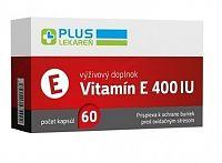 PLUS LEKÁREŇ Vitamín E 400 IU cps 1x60 ks