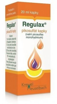 REGULAX pikosulfát sol por 1x20 ml