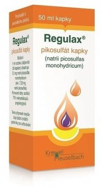 REGULAX pikosulfát sol por 1x50 ml