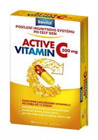 Revital ACTIVE VITAMIN C 500 mg cps 1x30 ks