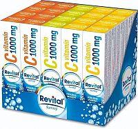 Revital effervescent MIX BOX Vitamín C 1000 mg tbl eff 1x1 set