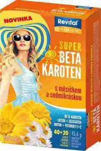 Revital PREMIUM SUPER BETA-KAROTÉN tbl40+20 zdarma