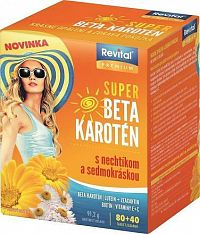 Revital PREMIUM SUPER BETA-KAROTÉN tbl80+40 zdarma