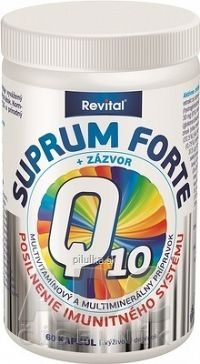 Revital SUPRUM FORTE + Q10 + ZÁZVOR cps 1x60 ks