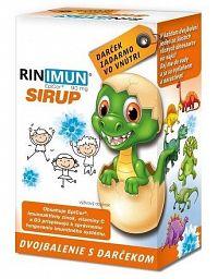 RINIMUN SIRUP DVOJBALENIE 2x120 ml + darček 1x1 set
