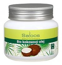 Saloos Bio kokosový olej na telo aj do kuchyne,1x250 ml