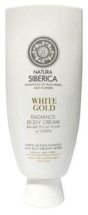 Siberie Blanche - Biele zlato - Žiarivý telový krém