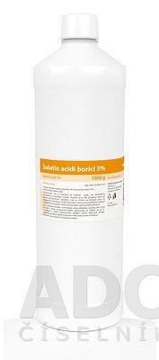 Solutio acidi borici 3% sol der 1x1000 g