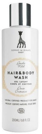Sophie la girafe Baby Hair & Body Wash, 200 ml