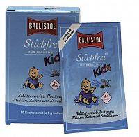 Sting-Free KIDS BALLISTOL telové mlieko vo vrecúškach 1x10 ks
