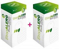 StopALERG PLUS ZINOK žuvacie tablety 2x60 ks
