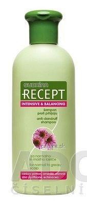 SUBRÍNA RECEPT INTENSIVE BALANCING šampón proti lupinám na mastné vlasy 1x400 ml