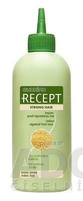 SUBRÍNA RECEPT STRONG HAIR lotion proti vypadávaniu vlasov 1x200 ml