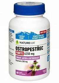SWISS NATUREVIA PESTREC mariánsky FORTE 6250 mg cps 1x60 ks