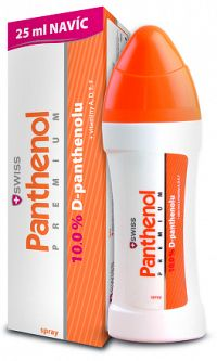SWISS Panthenol PREMIUM spray150+25 ml zadarmo