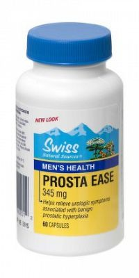 SWISS Prosta Ease 345 mg cps 1x60 ks