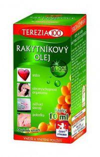 TEREZIA RAKYTNÍKOVÝ OLEJ - 100% v kvapkách kvapky 1x10 ml