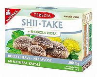TEREZIA SHII-TAKE + RHODIOLA ROSEA cps 1x60 ks