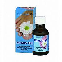 TOP GOLD Mykos 130 silná starostlivosť o nechty pri ohrození plesňami 1x20 ml