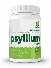 Top Green Psyllium cps 1x100 ks