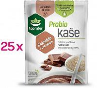 topnatur Probio KAŠA Čokoláda s proteínom ryžová kaša 25x60 g