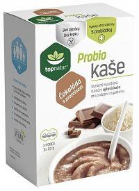 topnatur Probio KAŠA Čokoláda s proteínom ryžová kaša 3x60 g