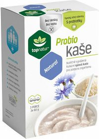 topnatur Probio KAŠA Natural ryžová kaša 3x60 g