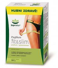 topnatur PSYLLIUM fit & slim krabica prášok, 1x200 g