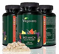 Vegavero BIO MACA 750 mg cps 1x120 ks