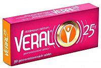 VERAL 25 mg tbl ent 1x30 ks