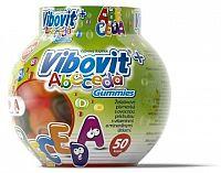 VIBOVIT+ ABECEDA Gummies želatínové písmenká, 1x50 ks