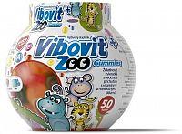 VIBOVIT+ ZOO Gummies želatínové zvieratká, 1x50 ks