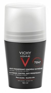 VICHY HOMME DEO ROLL-ON INT.PROTI NADM.POTENIU 48H 1x50 ml