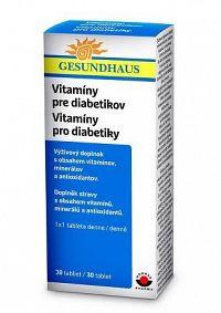 Vitamíny pre diabetikov tbl 1x30 ks