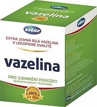 VITAR Vazelína extra jemná biela 1x110 g