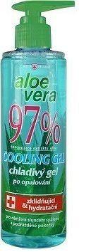 VIVAPHARM ALOE VERA 97% upokojujúci CHLADIVÝ GÉL 1x250 ml