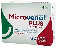 VULM Microvenal PLUS tbl flm 60+30 zadarmo