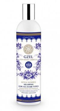 Výživný šampón pre všetky typy vlasov z královských bobúľ