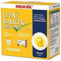 WALMARK Letný balíček DUO-PACK Beta karotén 6mg cps 30 ks + Laktobacily COMPLEX cps 30+12 1x1 set