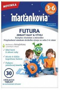 WALMARK Marťankovia FUTURA 3-6 cmúľacie tablety 1x30 ks