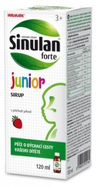 WALMARK Sinulan forte junior sirup 1x120 ml