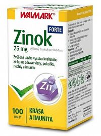 WALMARK ZINOK FORTE 25 mg tbl 1x100 ks