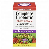 Webber Naturals Kompletné probiotiká 5 miliárd cps 1x60 ks