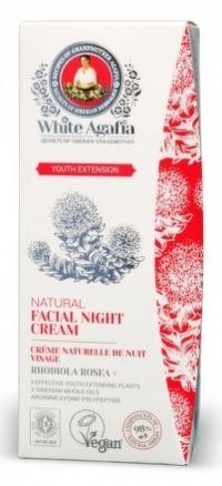 White Agafia - Predĺženie mladosti - Nočný pleťový krém