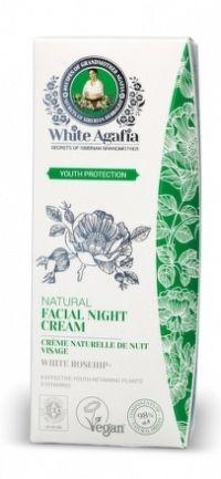 White Agafia - Zachovanie mladosti- Prírodný nočný pleťový krém