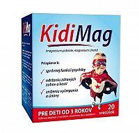 Zdrovit KidiMag vrecúška 1x20 ks