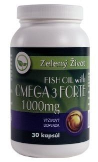 Zelený Život FISH OIL s OMEGA 3 1000 mg cps 1x30 ks